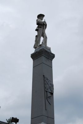 Laurens County Confederate Monument image. Click for full size.