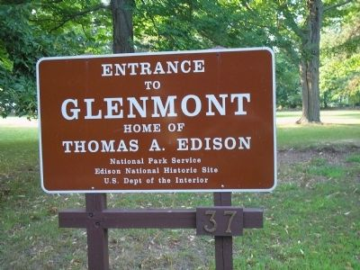 Glenmont, Home of Thomas Edison image. Click for full size.