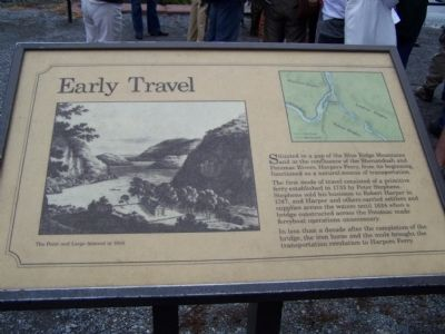 Early Travel Marker Photo, Click for full size