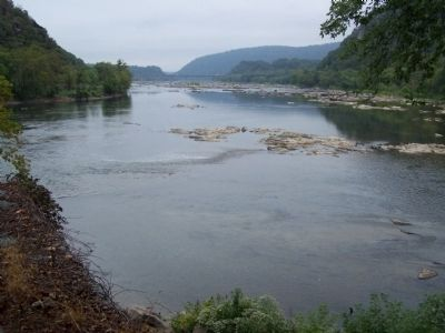 Confluence of Shenandoah and Potomac Rivers Photo, Click for full size
