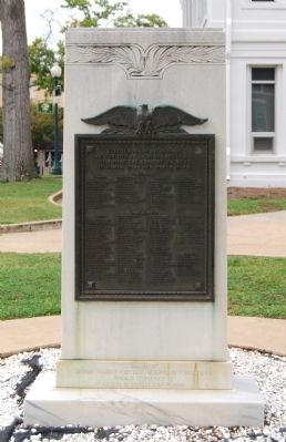 World Wars I & II Marker Photo, Click for full size
