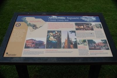 Abbeville Square Marker image. Click for full size.