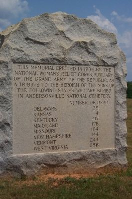 WRC Monument to Dead Soldiers image. Click for full size.