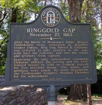 Ringgold Gap Marker image. Click for full size.