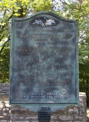 Atlanta Campaign Marker Photo, Click for full size