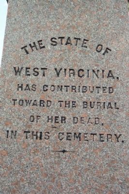 Washington Confederate Cemetery Monument - West Virginia image. Click for full size.