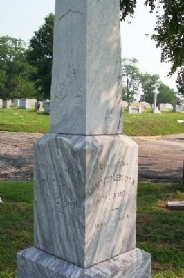 Camp Forrest, United Confederate Veterans Monument image. Click for full size.