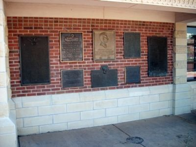 Wall of Plaques Photo, Click for full size