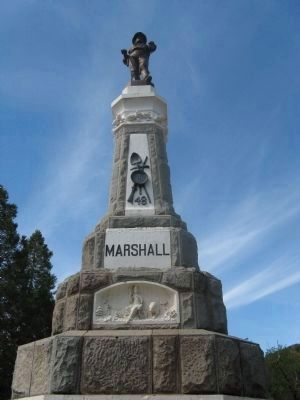 Marshall Monument Mentioned in Article image. Click for more information.