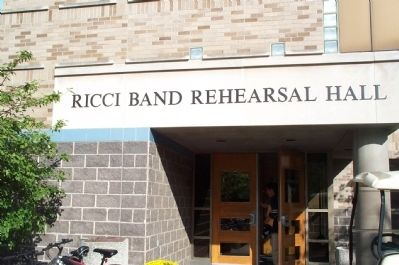 Ricci Band Rehearsal Hall image. Click for full size.