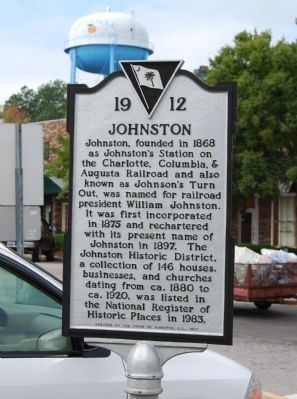 Johnston Marker Photo, Click for full size