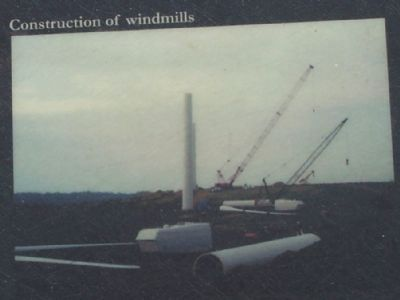 Construction of windmills image. Click for full size.