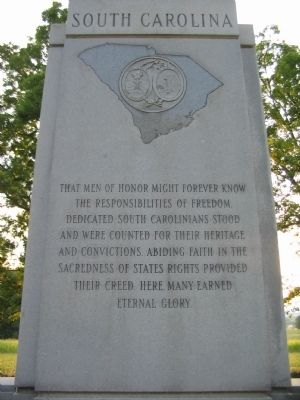 Upper Front Inscription Photo, Click for full size