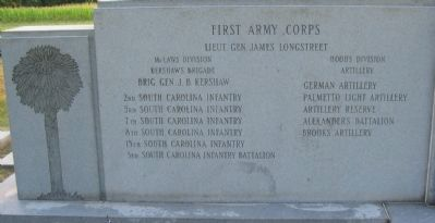 Right Flank Inscription Photo, Click for full size