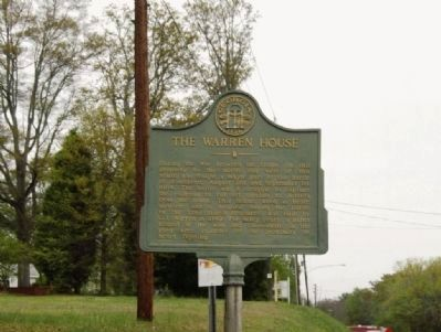 The Warren House Marker-View image. Click for full size.