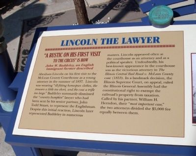 Lincoln The Lawyer Marker image. Click for full size.