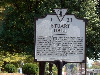 Stuart Hall Marker Photo, Click for full size