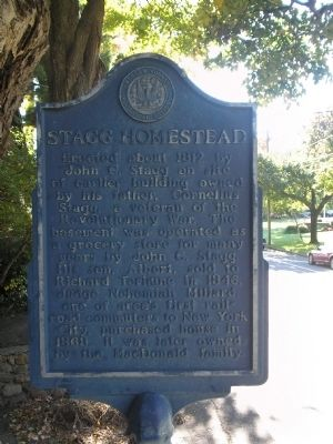 Stagg Homestead Marker image. Click for full size.