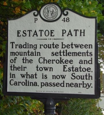 Estatoe Path Marker image. Click for full size.