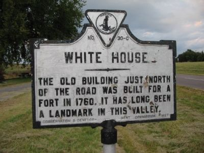 White House Marker Photo, Click for full size