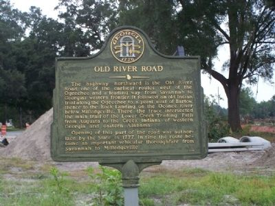 Old River Road Marker image. Click for full size.