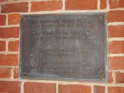 Transylvania County Courthouse Marker image. Click for full size.