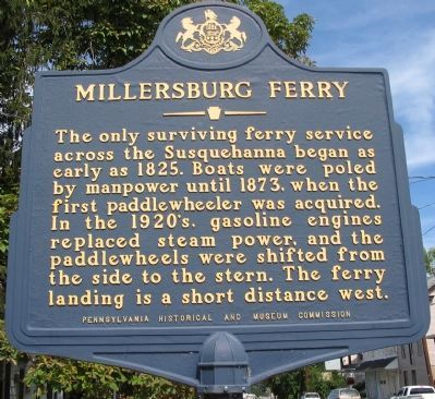 Millersburg Ferry Marker image. Click for full size.