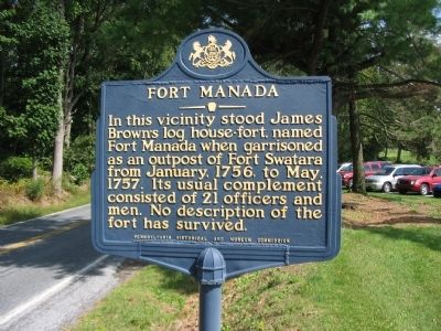 Fort Manada Marker image. Click for full size.