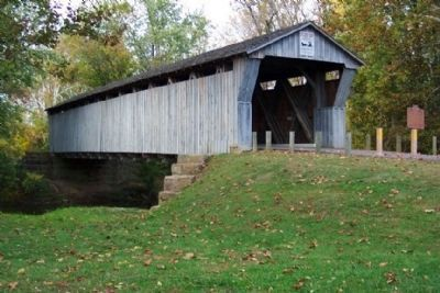 Bergstresser/Dietz Covered Bridge image. Click for full size.