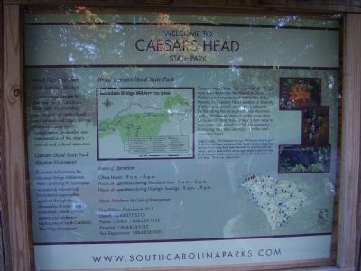 Caesars Head image. Click for full size.