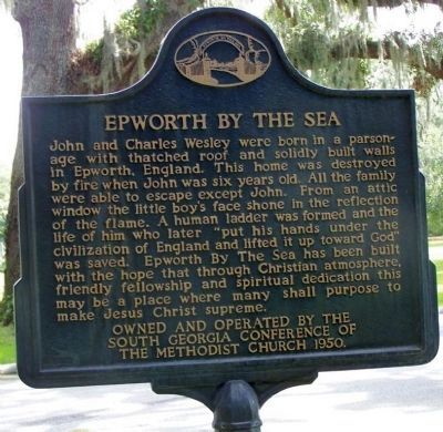 Epworth By The Sea / Epworth Pioneers Marker image. Click for full size.