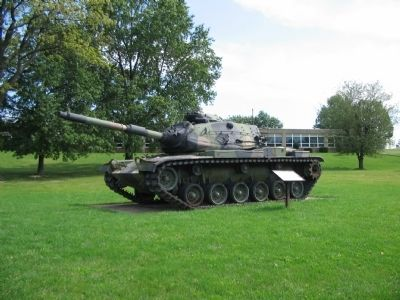 M60A3 Tank and Marker Photo, Click for full size