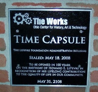 The Works Time Capsule image. Click for full size.