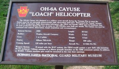 OH-6A Cayuse Marker image. Click for full size.