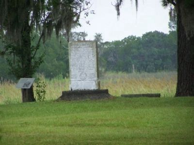 To The Soldiers Of Fort King George Marker image. Click for full size.