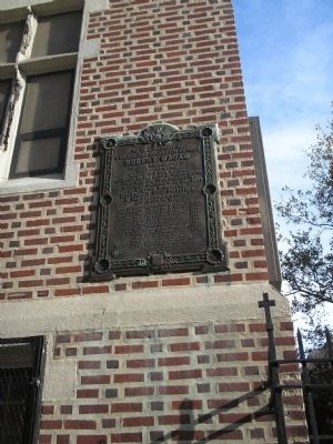 Marker on 181st Street image. Click for full size.