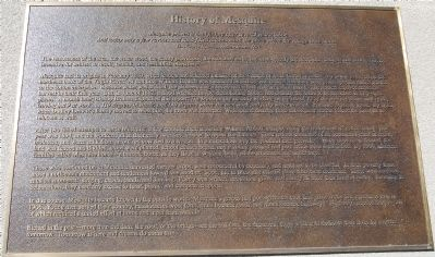 History of Mesquite Marker image. Click for full size.