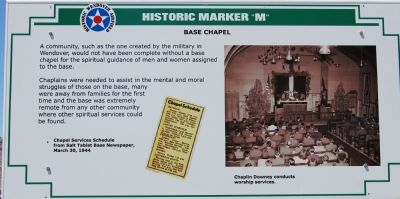 Base Chapel Marker image. Click for full size.
