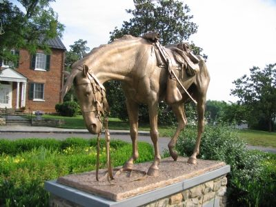 Horse Memorial Photo, Click for full size