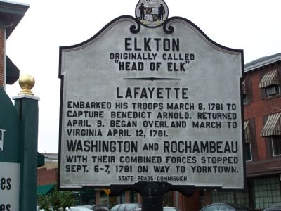 Elkton Marker Photo, Click for full size