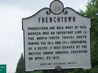 Frenchtown Marker image. Click for full size.