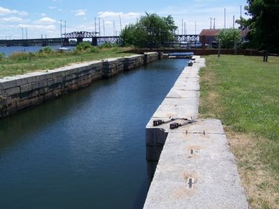 Restored lock of Susquehanna and Tidewater Canal at Havre de Grace image. Click for full size.