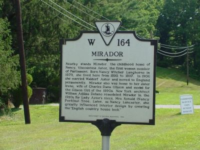 Mirador Marker Photo, Click for full size
