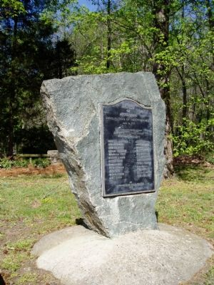 Site of the Signing of the Mecklenburg Declaration of Independence image. Click for full size.