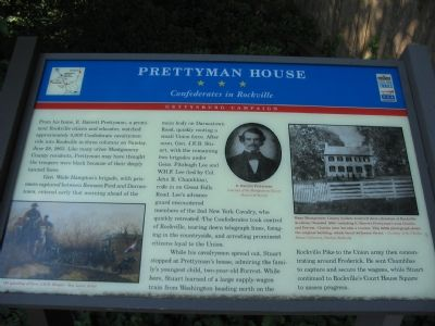 Prettyman House Marker image. Click for full size.