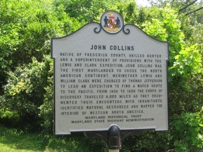 John Collins Marker image. Click for full size.