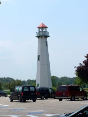 The Lighthouse across from the Welcome Center. image. Click for full size.