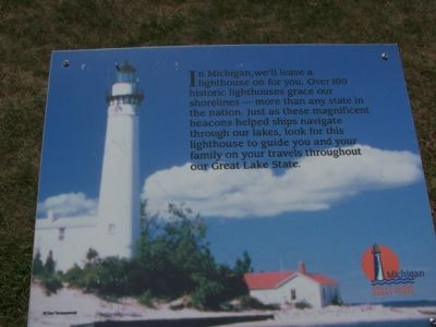 """In Michigan, we'll leave a lighthouse on for you."" image. Click for full size."