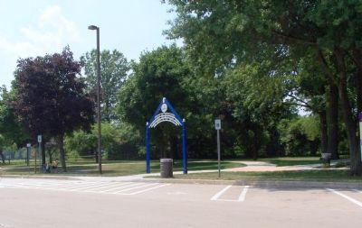 Entrance to the large playground image. Click for full size.