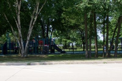 The playground at the Welcome Center image. Click for full size.